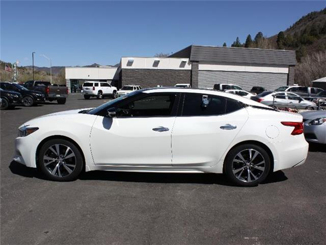 pre owned 2017 nissan maxima platinum 4dr car in durango 8110 nissan of durango. Black Bedroom Furniture Sets. Home Design Ideas